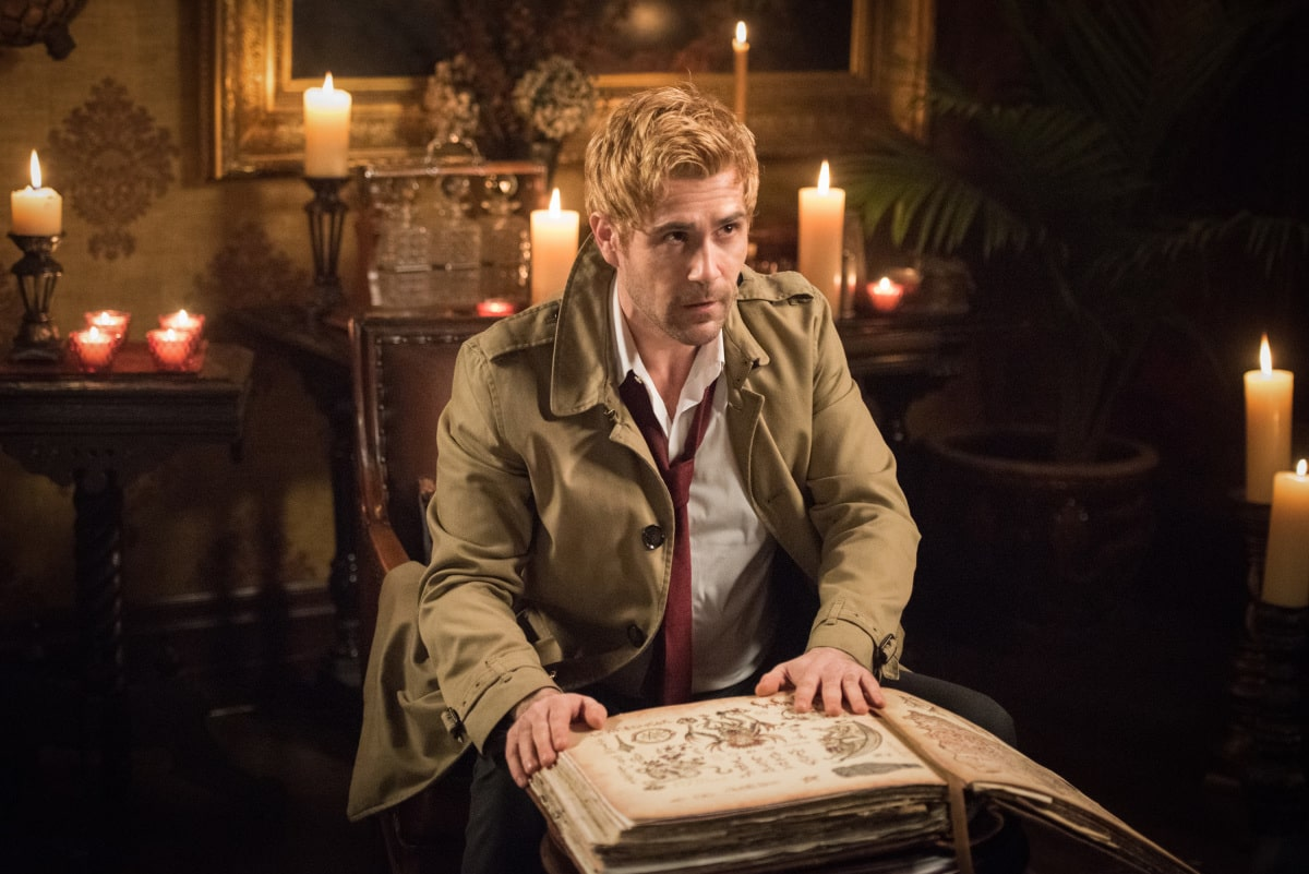 Matt Ryan as Constantine. Photo courtesy of DC Legends TV.