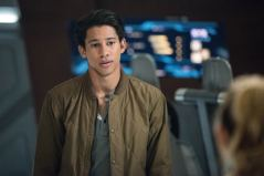 Keiynan Lonsdale as Wally West. Photo courtesy of DC Legends TV.