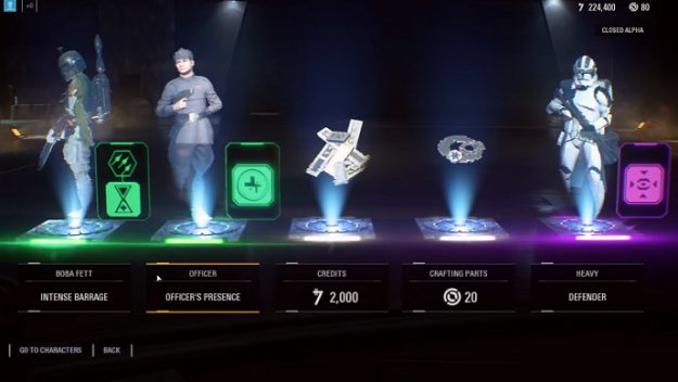 Star Wars loot boxes