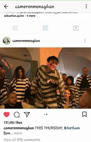 Oswald Cobblepot Instagram
