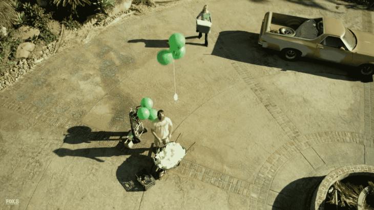 releasing diaper balloons