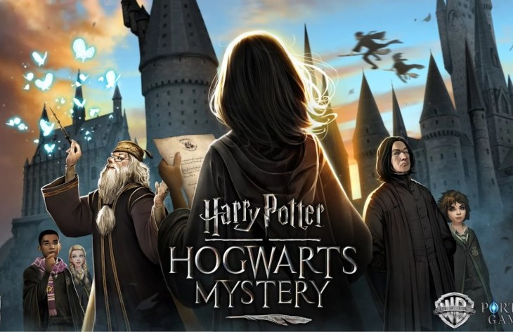 Harry-Potter Hogwarts A Mystery