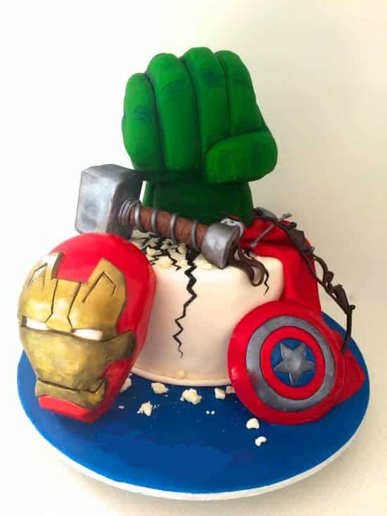 TGON Bakes - 19 - Avengers Cake