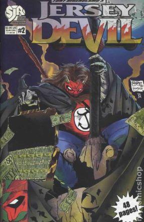 Jersey Devil comic