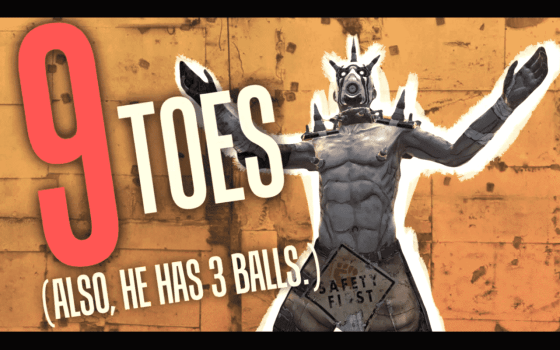 9 Toes!