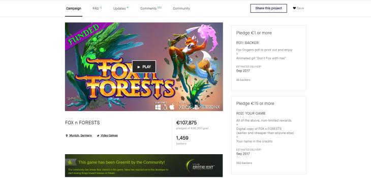 foxforests kickstarter