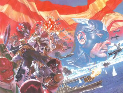 Cover of Captain America #1