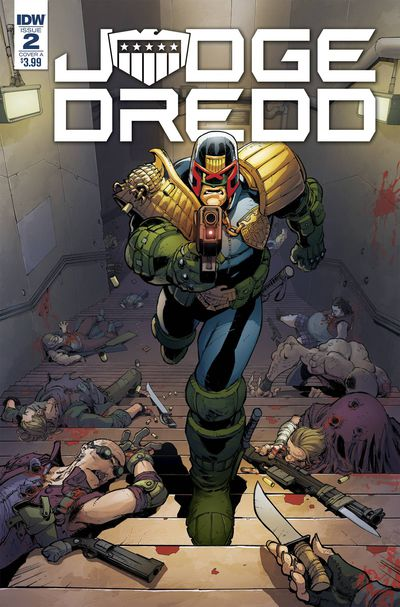 Cover for Judge Dredd: Under Siege #2