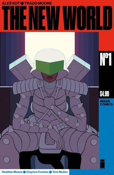 Cover for New World #1