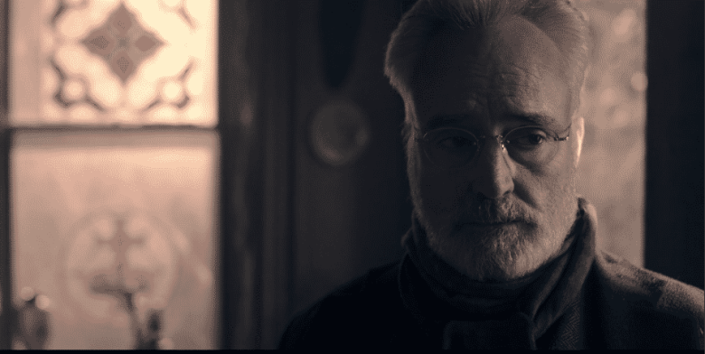 "Bradley Whitford as Commander Lawrence on The Handmaid's Tale ""Postpartum"""