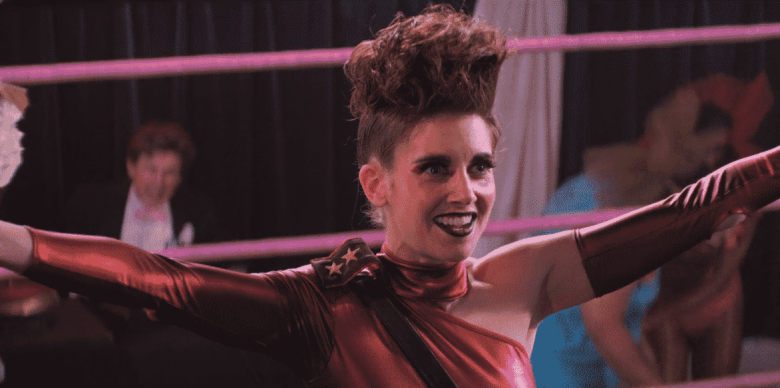"Alison Brie as Ruth ""Zoya"" on GLOW."