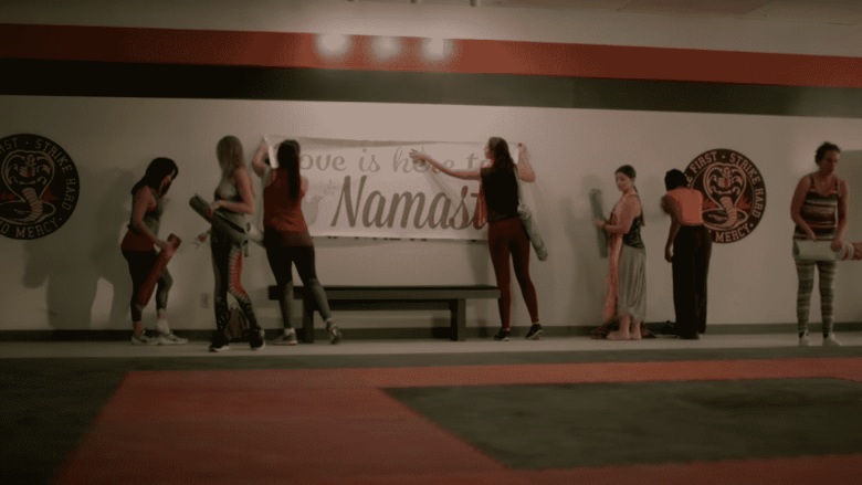 love is here to namaste