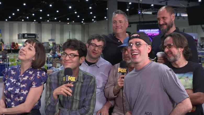 Bob's Burgers cast during an interview at San Diego Comic Con