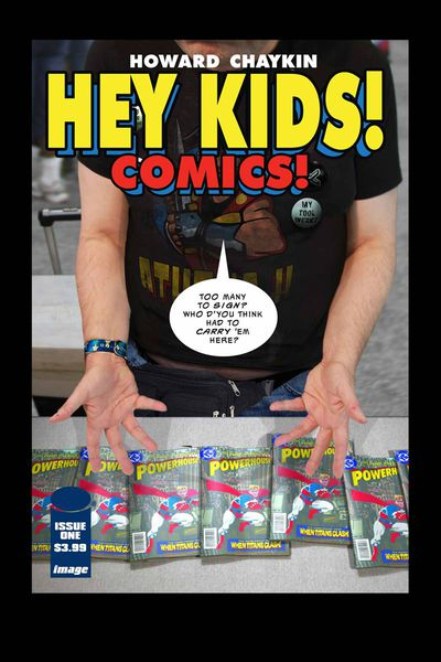 Cover for Hey Kids! Comics! #1