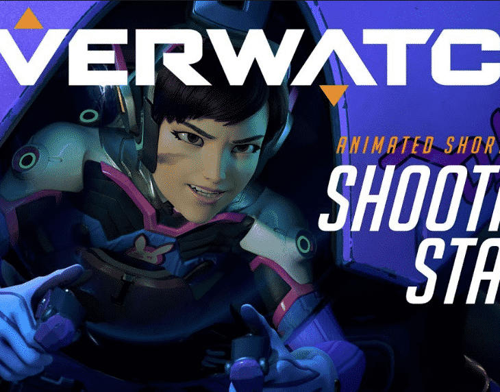 "D.Va's animated short ""Shooting Star"""