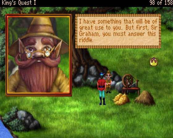 Original King's Quest (random Clip)