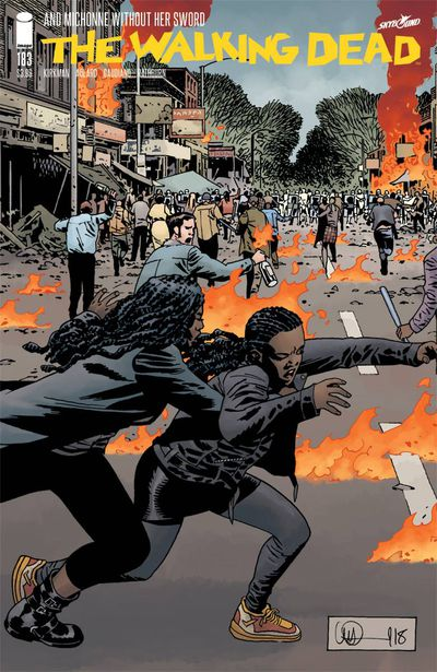 Cover for The Walking Dead #183