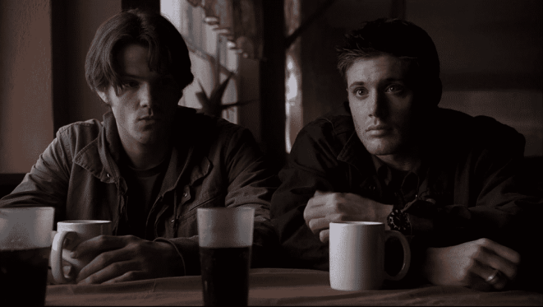 Sam and Dean on Supernatural