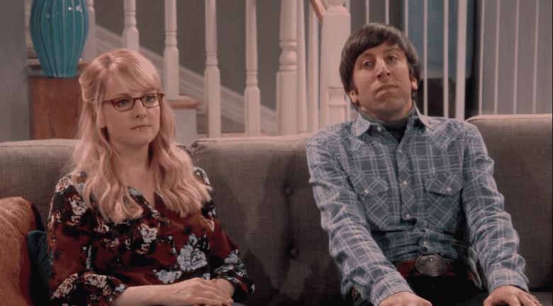 Bernadette and Howard on The Big Bang Theory