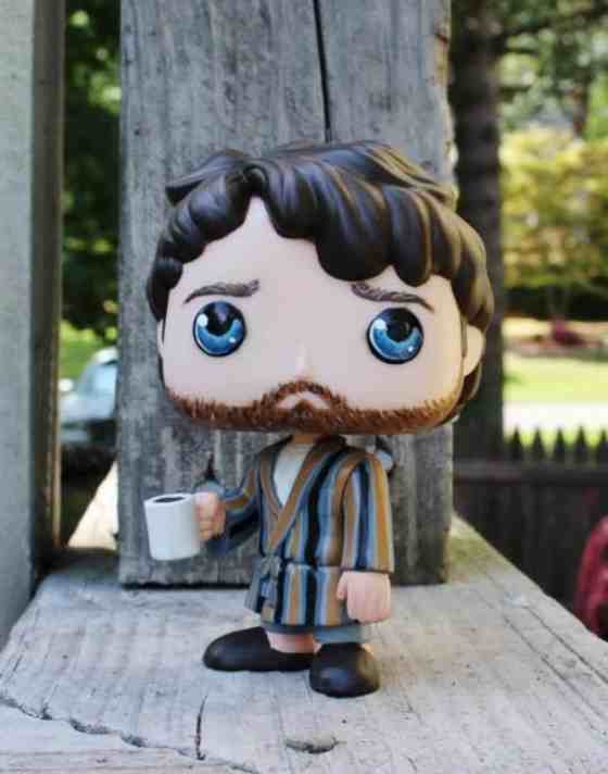 Custom funko chuck from supernatural by lisa rourke