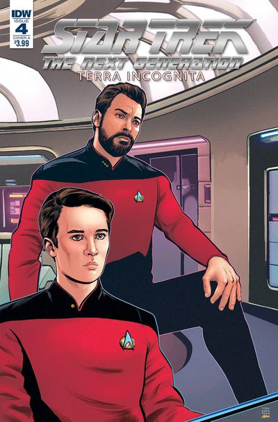 Cover for Star Trek: TNG: Terra Incognita #4