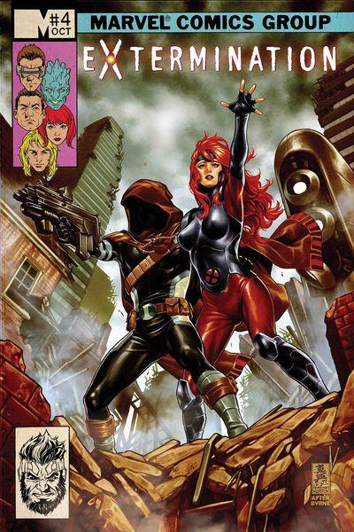 Cover for X-Men: Extermination #4