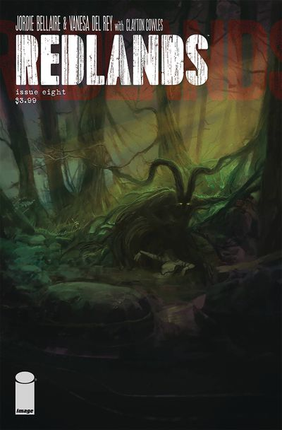 Cover for Redlands #8