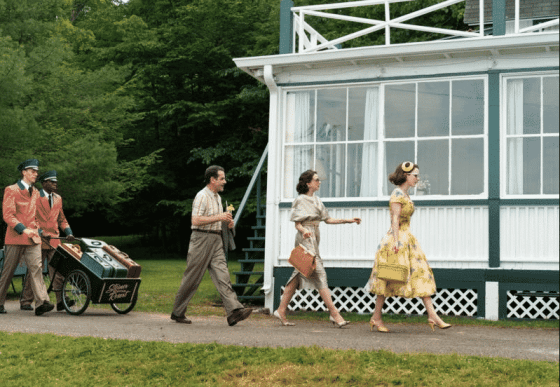 The Weissmans arrive in the Catskills on The Marvelous Mrs. Maisel