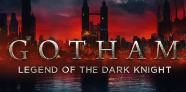 Gotham Season 5 Title Card