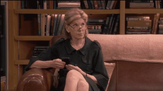 Christine Baranski as Beverly Hofstadter on The Big Bang Theory