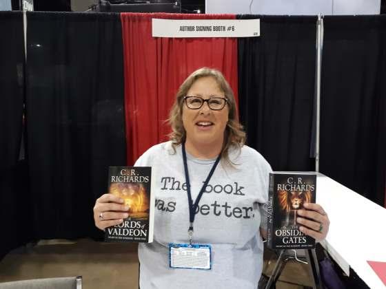 Author CR Richards