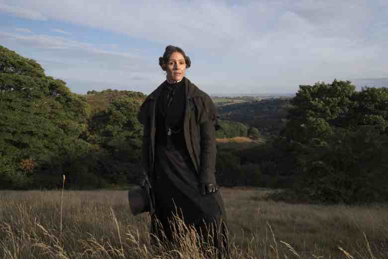 Suranne Jones as Anne Lister on Gentleman Jack