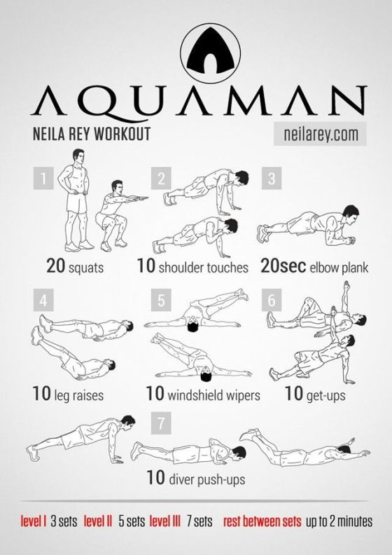 """That was awesome!"""" Review of the Aquaman Workout - The Game"""