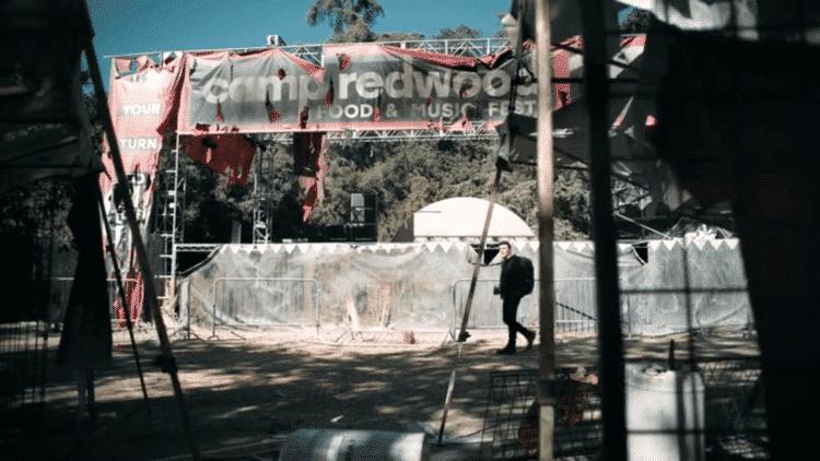 Camp Redwood Stage