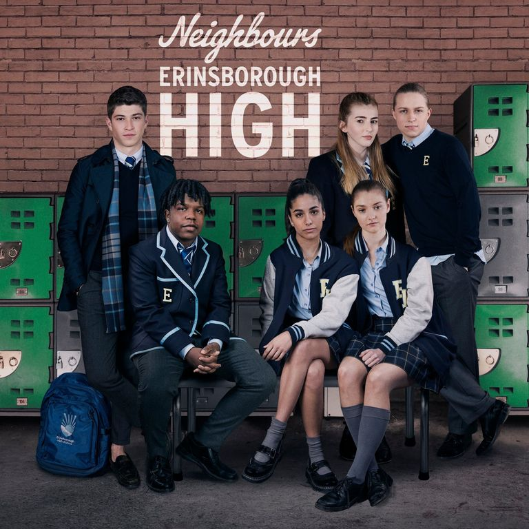 neighbours erinsborough high spinoff cast