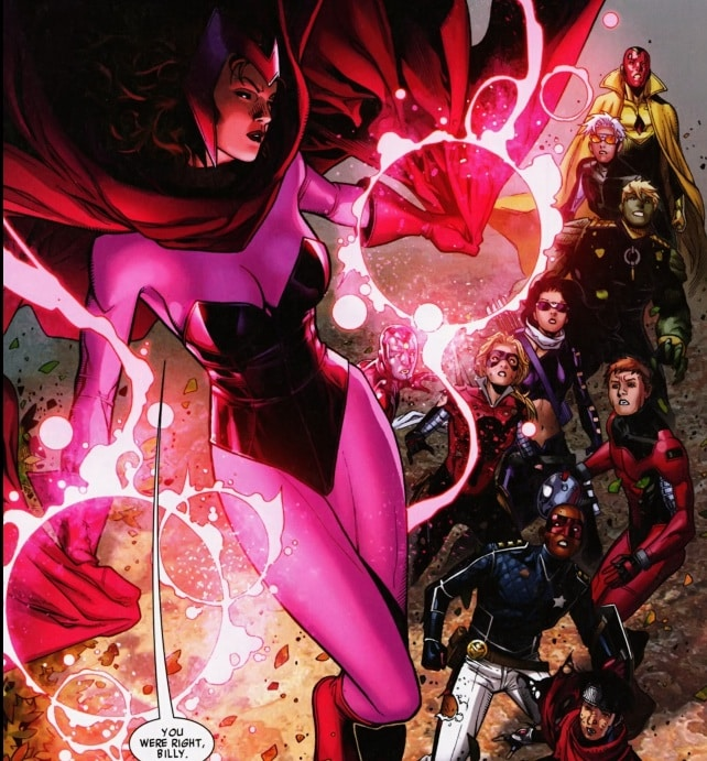 Young Avengers-The Children's Crusade-Return of the Scarlet Witch