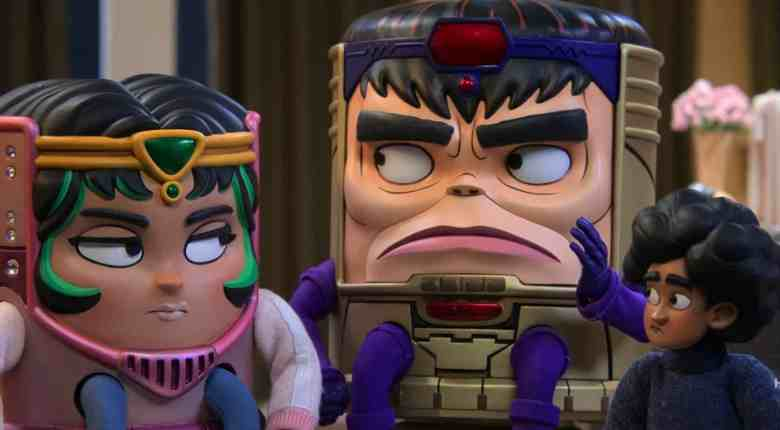 M.O.D.O.K. Season 1- M.O.D.O.K. and his kids, Melissa and Lou