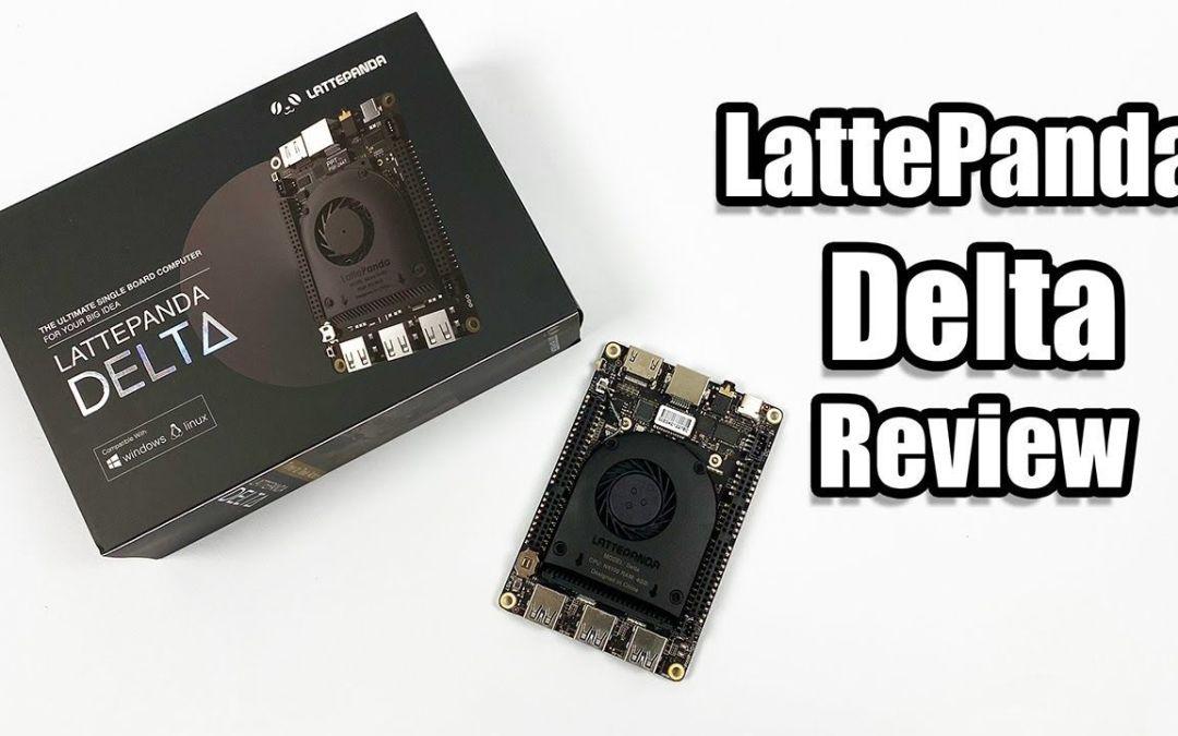 Latte Panda DELTA Review  – The Alphas Little Brother – Windows/Linux SBC