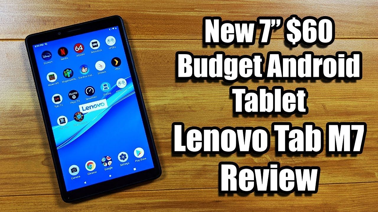 Lenovo Tab M7 Review New 7 60 Budget Android Tablet The Gamepad Gamer