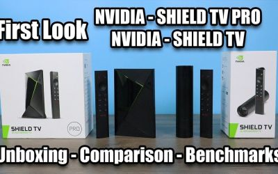 New Shield TV Pro and Shield TV First Look Unboxing Benchmarks Comparison