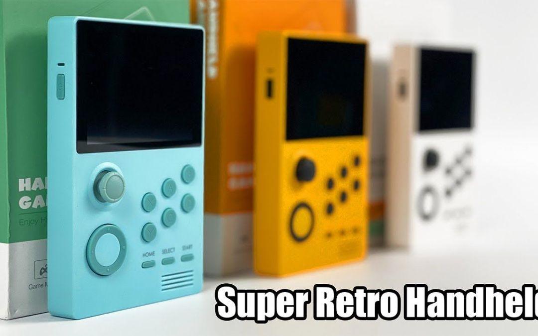 Super Retro Game Handheld First Look! Android Powered Pandoras box Handheld