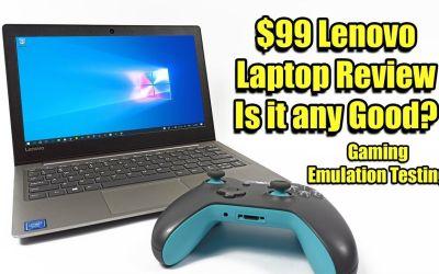 $99 Lenovo Laptop Review + Emulation And Gaming Test Lenovo 130s 11iGM