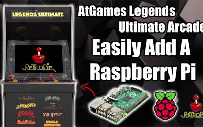 Easily Add A Raspberry Pi To The AtGames Legends Ultimate Arcade