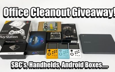 Office Clean Out Giveaway! SBC's,Handhelds,Android Boxes…..