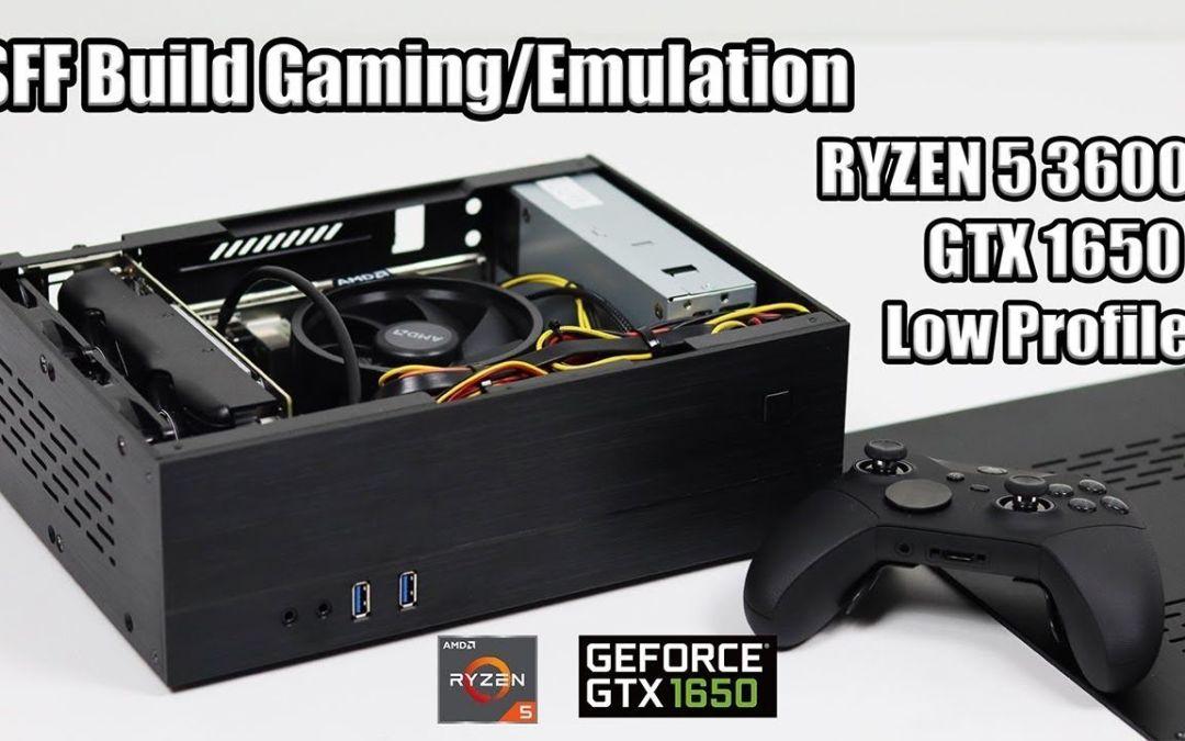 Small Form Factor Gaming/ Emulation Build – Low Profile GTX 1650 + RYZEN 5 3600