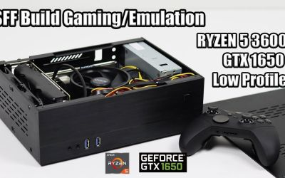 Small Form Factor Gaming/ Emulation Build – Low Profile GTX 1650 + RYZEN 5 3600