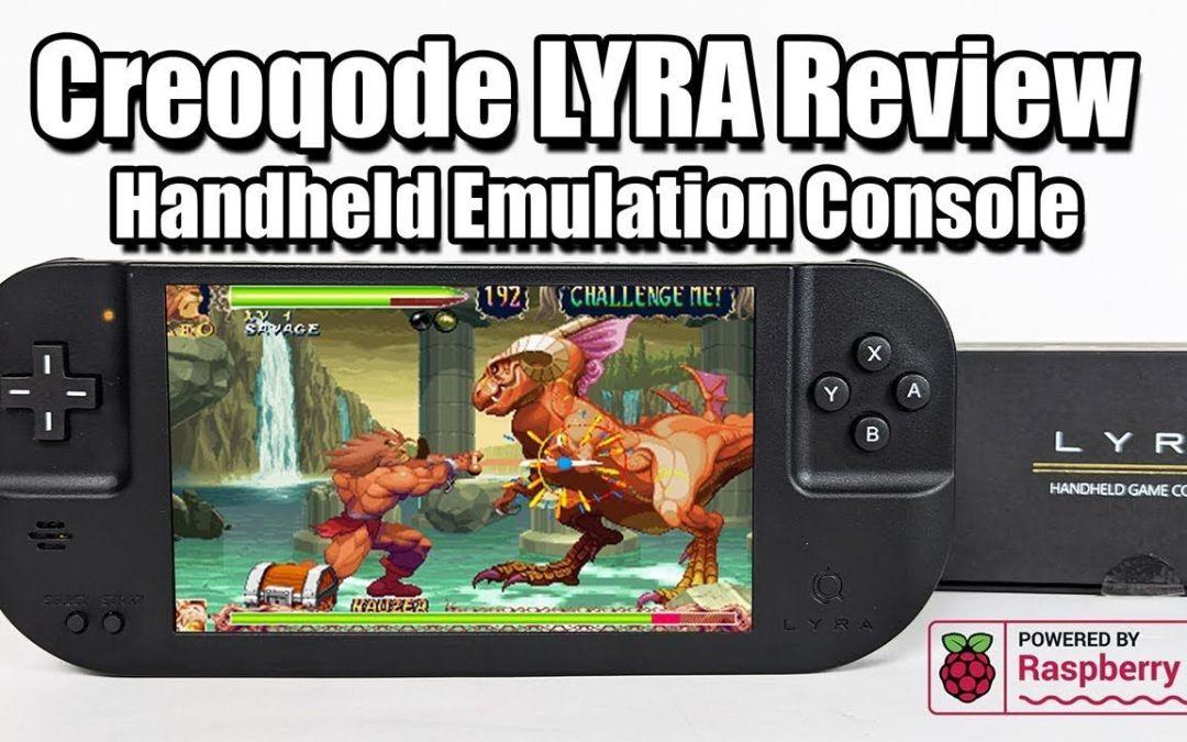 Creoqode LYRA Review – Retro Gaming Handheld