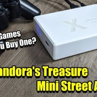 The Mini Street Arcade Console - Pandora Treasure Box