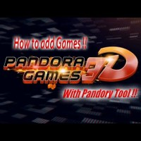 How to add games to the Pandora Games 3D / Pandory Tool Tutorial