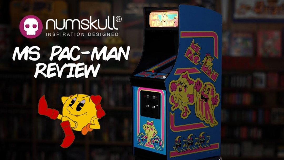 NUMSKULL's Ms Pac-Man QUARTER ARCADE Review